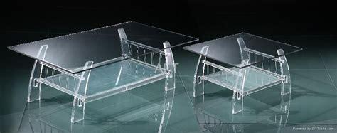 Plexiglass Acrylic Clear Coffee Table-cj (hong Kong