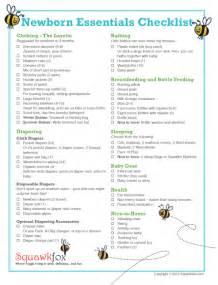 newborn baby necessities new baby checklist on baby checklist baby