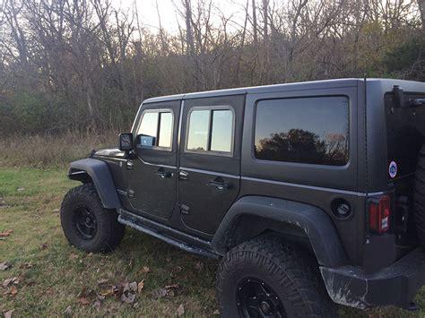jeep half doors jeep jk 2 door soft retrofit half door slider kit