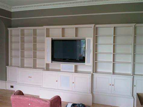 wall unit tv bookcase custom built entertainment wall units furniture design plans