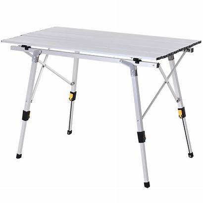 Table Portable Outdoor Lightweight Adjustable Folding Camping