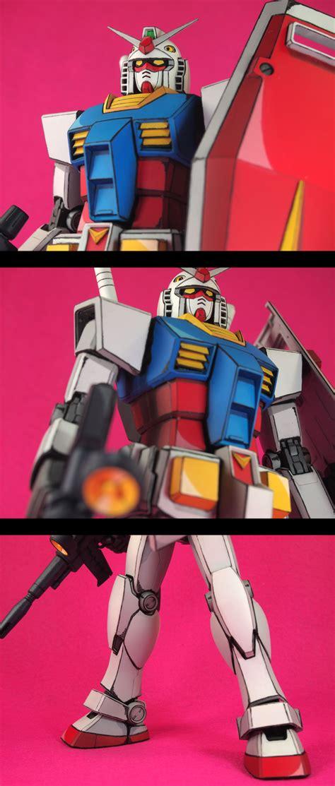 mg  gundam ver painted  anime style  sale