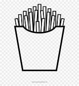 Fries Colorear Fritas Coloring Papas Imprimir Papa French Pngfind Divider Dlf Pt sketch template