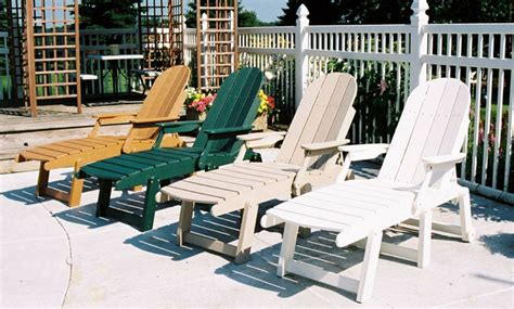chaise adirondack plastique recyclé costco recycled plastic chaise lounge with arms