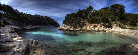panorama de la calanque de port pin cassis photo et image nature mers et oc 233 ans calanques