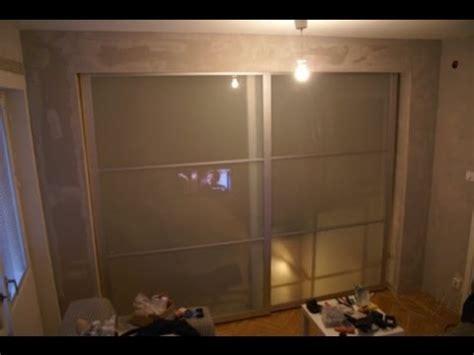 sliding door room dividers ikea youtube