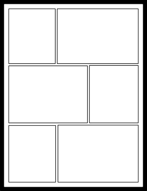 Comic Template For by Comic Template Tryprodermagenix Org
