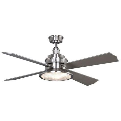 home depot ceiling fans brushed nickel valle paraiso 52 in brushed nickel ceiling fan