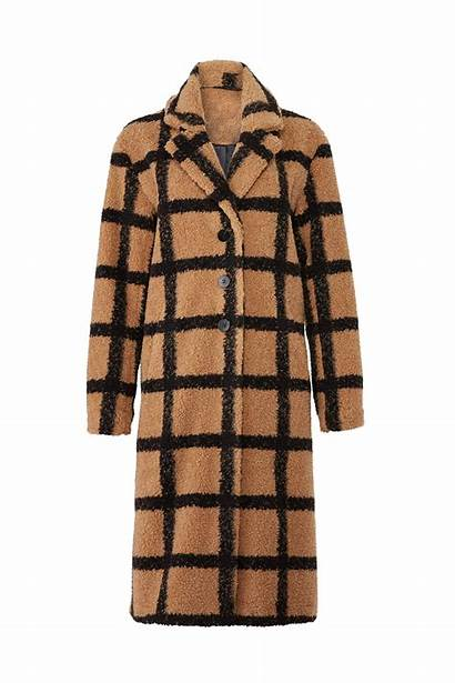 Coat Plaid Berber Nvlt