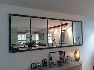 Miroir Industriel Ikea : miroir notos 250cm art industriel miroir industriel ~ Teatrodelosmanantiales.com Idées de Décoration