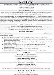respiratory therapist resume sample resume samples With free respiratory therapist resume templates