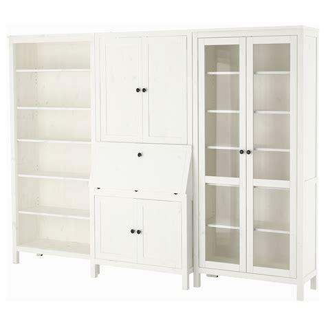 bureau hemnes hemnes bureau with add on unit bookcase white stained