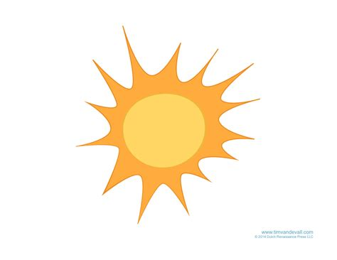 Sun Template Weather For Free Cloud Templates And Weather