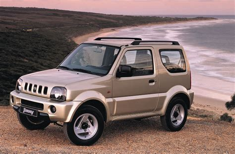 suzuki jimny  wd jlx manual  door specs cars datacom