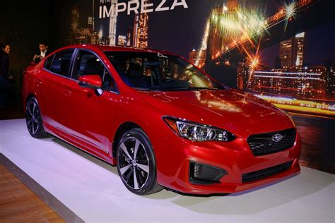 Subaru Impreza Sport by 2017 Subaru Impreza Sport And 5 Door Live Ny Debut