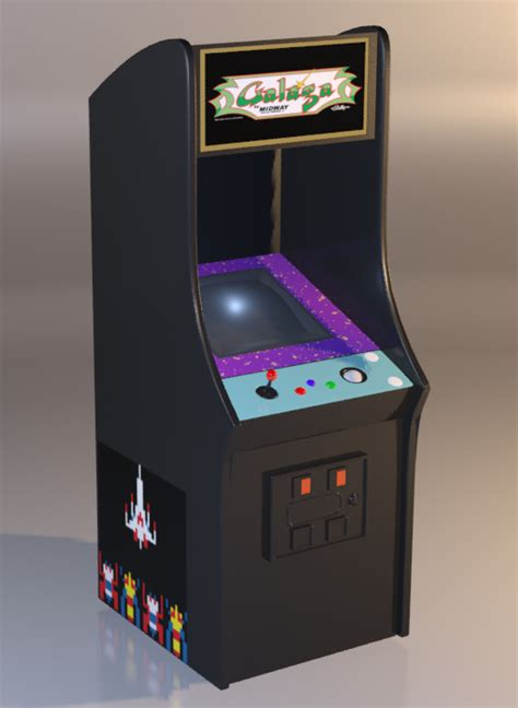 Galaga Arcade Machine by Galaga Arcade Machine By Warriorunknown On Deviantart