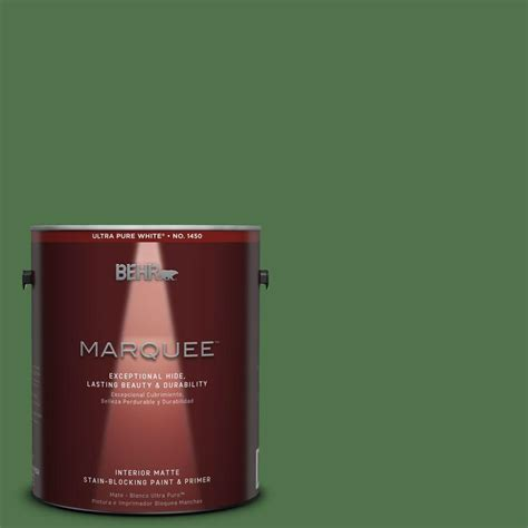 behr marquee 1 gal mq4 49 emerald forest one coat hide