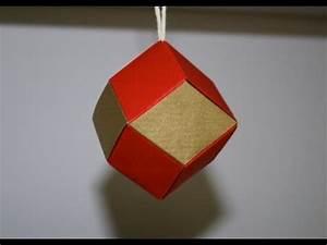 Origami Boule De Noel : origami dod ca dre rhombique boule de no l senbazuru youtube ~ Farleysfitness.com Idées de Décoration