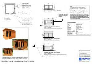 home design application garden building planning application submitted by clive elsdon building design
