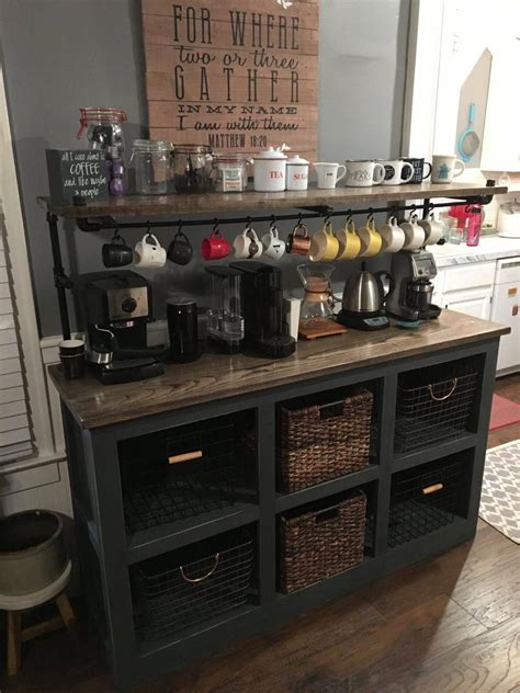 But first coffee, cute coffee sign, sign for coffee bar, but diy coffee station ideas with farmhouse style * let's get your kitchen organized beautifully with one of. #smallkitchen in 2020 | Kitchen remodel small, Coffee bar home, Coffee bars in kitchen