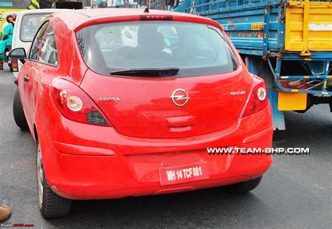 vauxhall india new opel corsa spotted team bhp