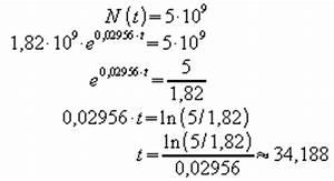 Beleuchtungsstärke Berechnen : exponentielles wachstum ~ Themetempest.com Abrechnung