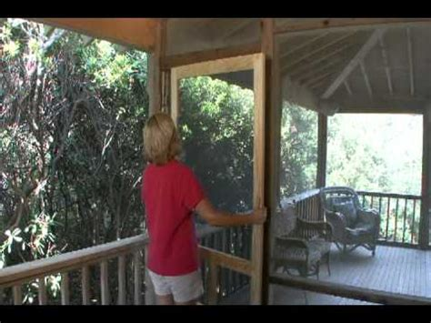 how to install a solid wood screen door from screen tight