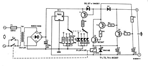 Automatic Battery Charger Circuit Diagram Diagramz