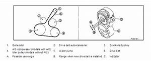 2008 Nissan Altima Serpentine Belt Diagram