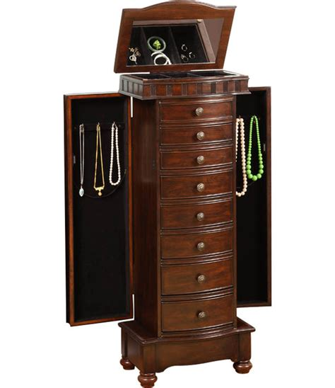 Jewelry Chest Armoire In Jewelry Armoires