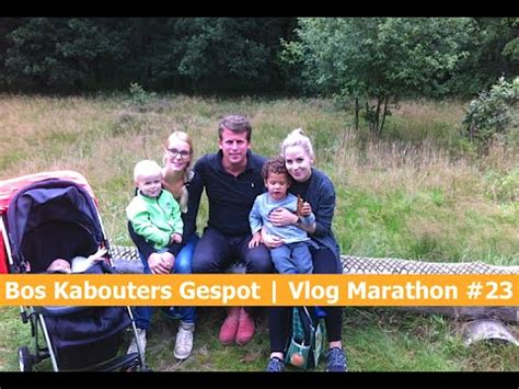 Bos Kabouters Gespot!  Vlog Marathon #23 Youtube