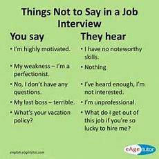 Useful Phrases For Structuring Answers In A Job Interview  English Language, Esl, Efl, Learn