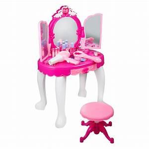 Schminktisch Für Mädchen : elektrisch kinder schminktisch set frisiertisch spiegel hocker mit licht mp3 ebay ~ Markanthonyermac.com Haus und Dekorationen
