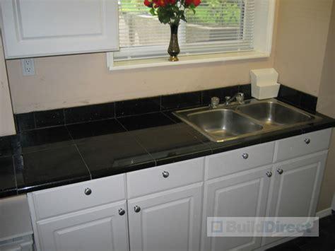kitchen counter top tile granite countertop kitchen black galaxy