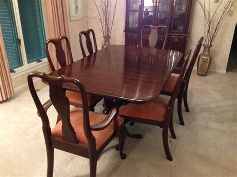 ethan allen dining room sets ethan allen dining room set with china hutch