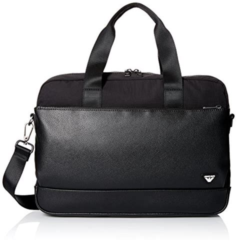 Armani Exchange Briefcase by Armani Exchange S Eco Leather Laptop Briefcase S