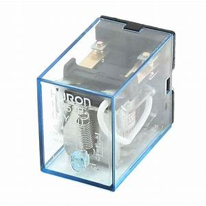 Hh52p Ac 110  120v Coil General Purpose Power Relay 8 Pins