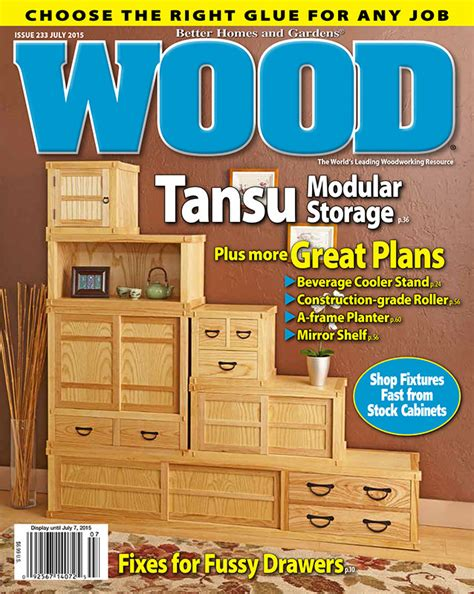 wood issue  july  woodworking plan  wood magazine