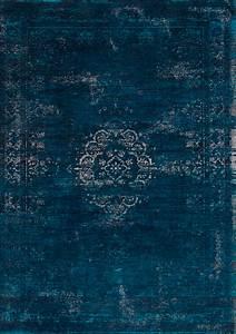 Teppich Vintage Blau : vintage teppich scuro blau berlin ~ Whattoseeinmadrid.com Haus und Dekorationen