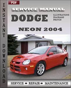 Dodge Neon 2004 Service Guide