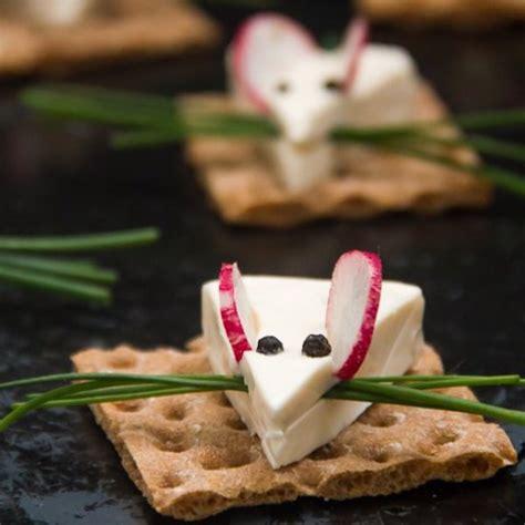 cheesy mice edible crafts