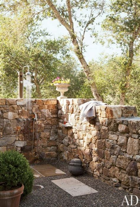 great outdoor shower ideas  refreshing summer time hative