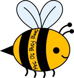 Busy Bumble Bee Clip Art