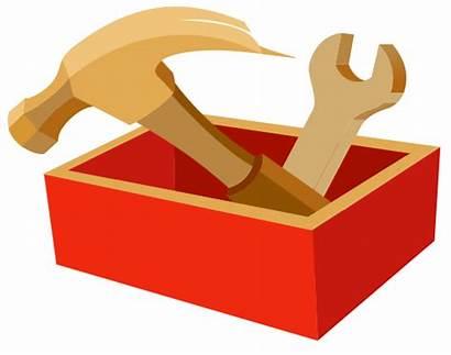 Tool Clipart Box Toolbox Tools Sign Svg