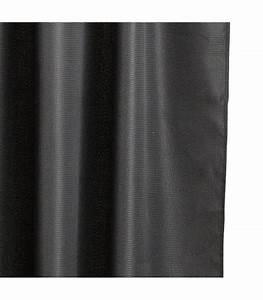 Rideau De Douche Original : rideau de douche luxe tissu noir ~ Melissatoandfro.com Idées de Décoration