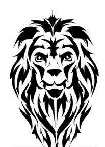 14 Best Tribal Lion Tattoo Stencils images   Tribal lion, Tribal lion tattoo, Lion tattoo