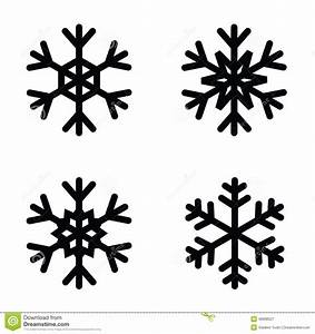 Icono De Los Copos De Nieve Ilustración del Vector Imagen: 46908327