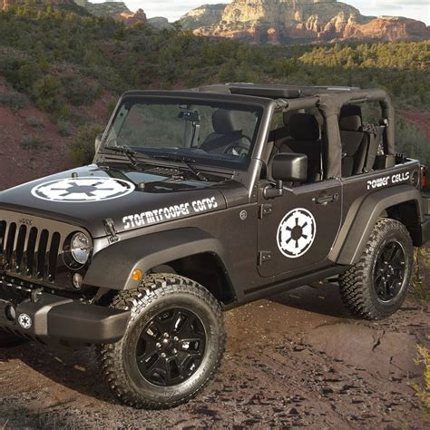 jeep wrangler stormtrooper corps decal kit jeepazoid