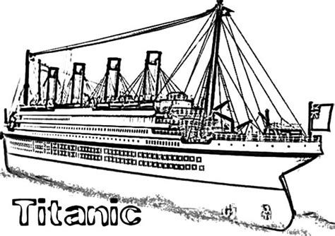 titanic coloring pages titanic cruise ship coloring pages netart