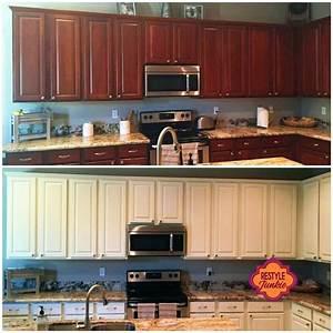antique white kitchen cabinet makeover 2228